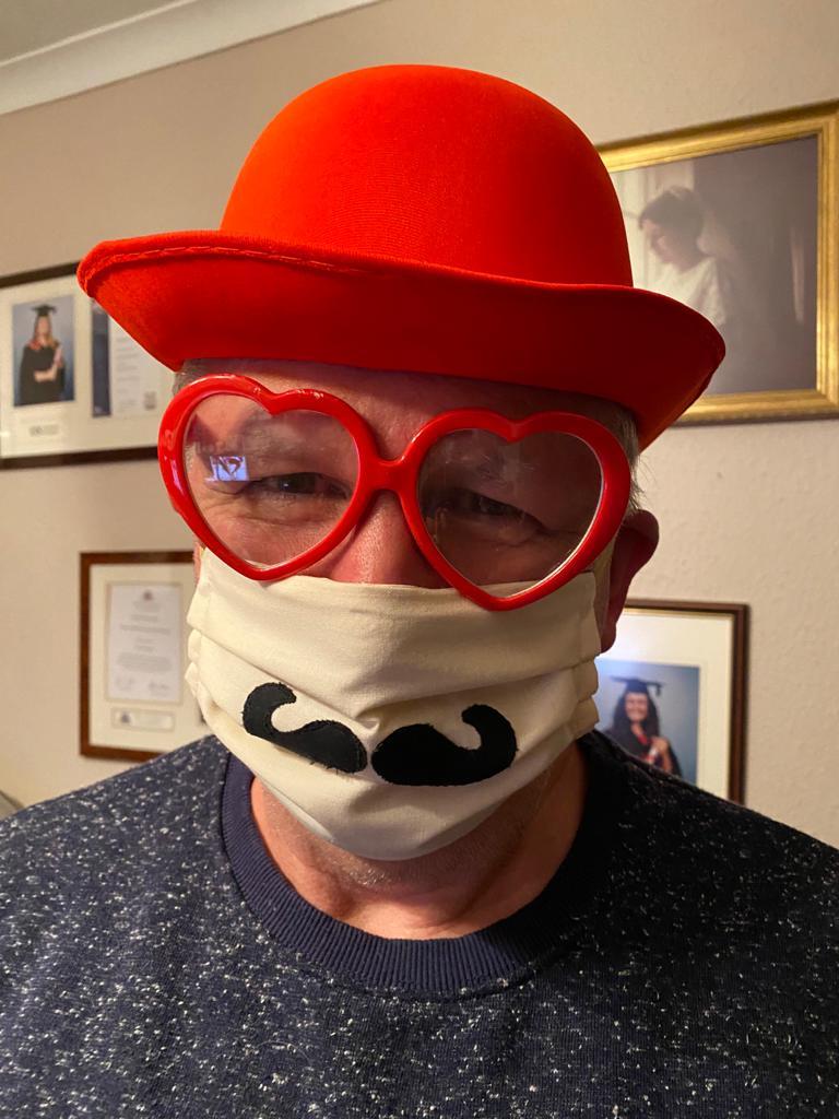 Appliquéd Moustache
