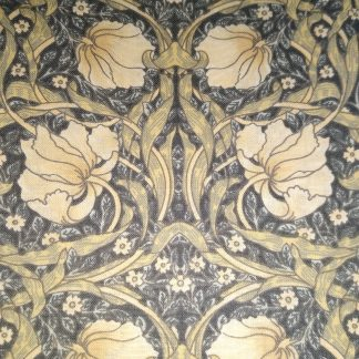 William Morris Pimpernel fabric for Face masks and Wired rockabilly hairbands