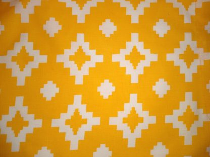 Yellowest Yellow Facemask and Wired Rockabilly Hairband Fabric